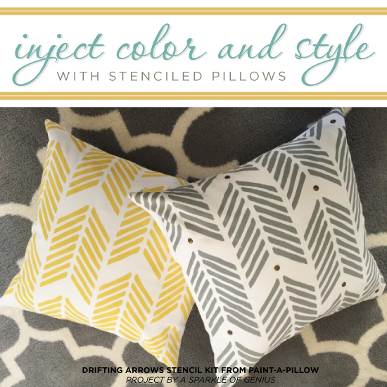 Cutting Edge Stencils Explores Island Adventures: Inject Color And Style With Stenciled Pillows