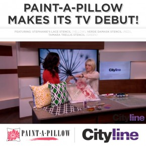 Paint-A-Pillow Makes Its TV Debut!
