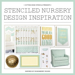 Stenciled Nursery Design Inspiration