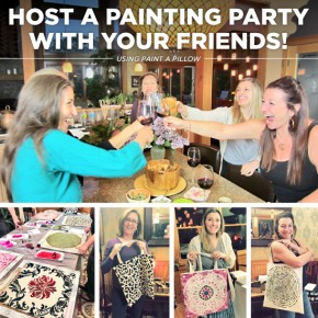 Host A Painting Party With Your Friends!