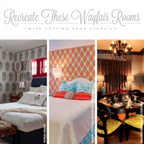 Recreate These Wayfair Room Ideas Using Stencils