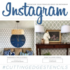 Showcase Your Stenciled Space on Instagram