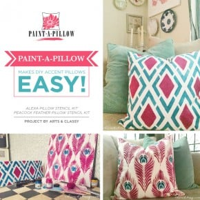 Paint-A-Pillow Makes DIY Accent Pillows Easy!