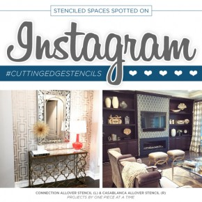 Stenciled Spaces Spotted On Instagram