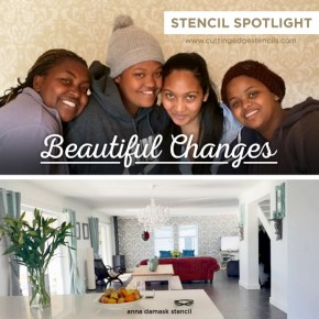Stencil Spotlight: Beautiful Changes