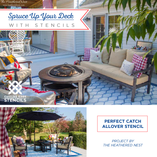 Spruce Up Your Deck With Stencils