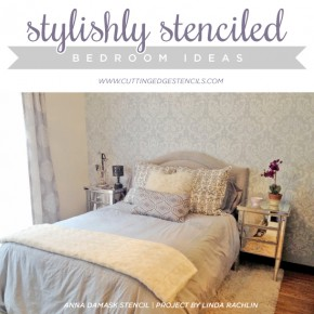 Stylishly Stenciled Bedroom Ideas