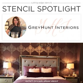 Stencil Spotlight: Grey Hunt Interiors