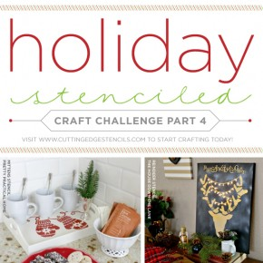 Easy Holiday Decorating Ideas Using Stencils