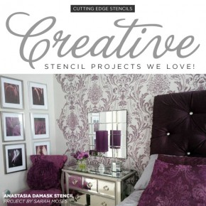Creative Stencil Projects We Love!