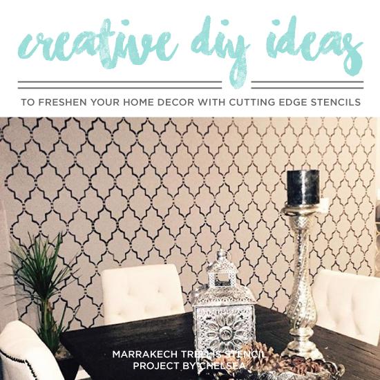 Cutting Edge Stencils Explores Island Adventures: Creative DIY Ideas To Freshen Your Home Decor With
