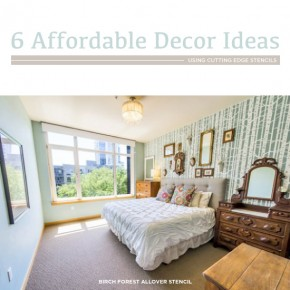 6 Affordable Decor Ideas Using Stencils