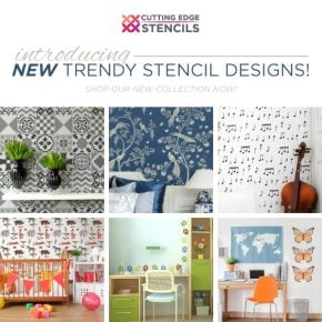 Introducing NEW Trendy Stencil Designs!