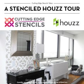 Cutting Edge Stencils shares DIY stenciled room ideas painted by Interior Designers that were spotted on Houzz. http://www.cuttingedgestencils.com/wall-stencils-stencil-designs.html