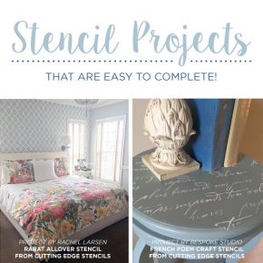 Cutting Edge Stencils shares simple and inexpensive DIY home decorating ideas using wallpaper stencils. http://www.cuttingedgestencils.com/wall-stencils-stencil-designs.html