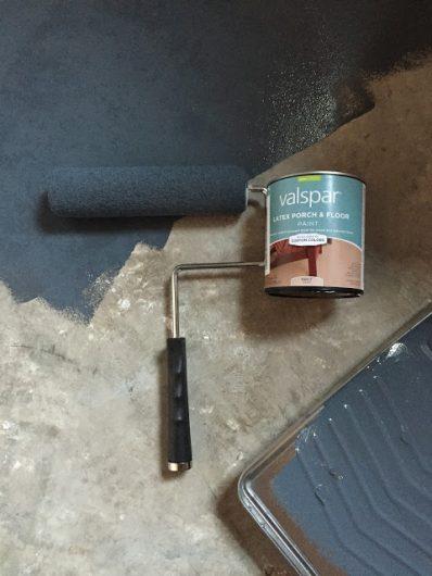 Painting Linoleum Floors Bathroom