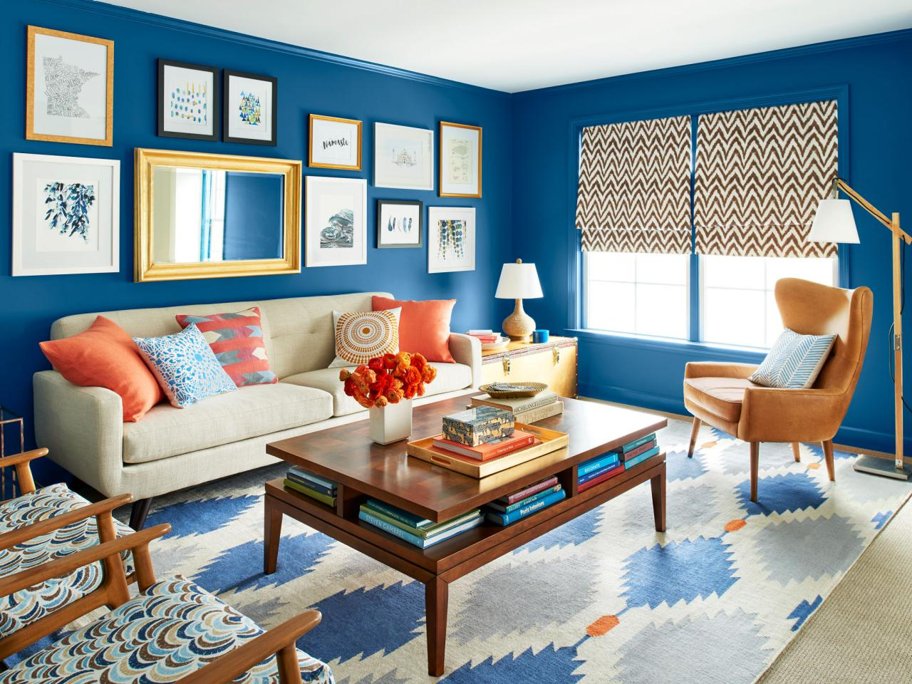 Hgtv Magazine Features Stenciled Accent Pillows To Using Cutting Edge Stencils Spruce Up A Living