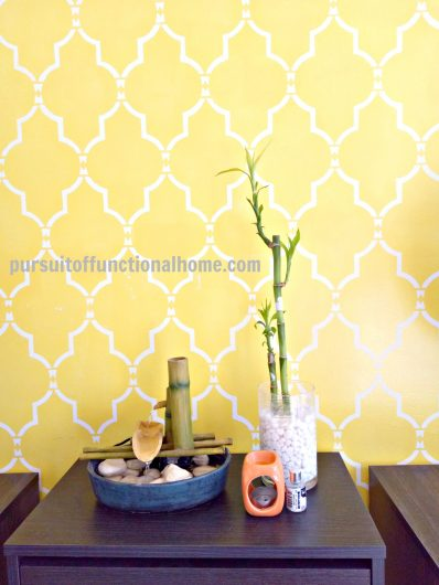 Fine Stenciled Wall Ideas Model - Wall Art Collections ...