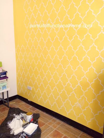 Nice Wall Stenciling Ideas Sketch - Wall Art Collections ...