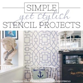 6 Simple Yet Stylish Stencil Projects