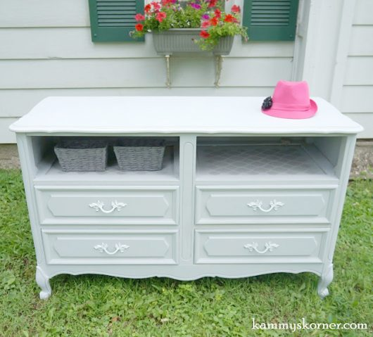 Learn how to stencil a Moroccan pattern on a French Provincial dresser using the Rabat Craft Stencil from Cutting Edge Stencils. http://www.cuttingedgestencils.com/rabat-furniture-fabric-stencil.html