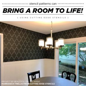 Stencil Patterns Can Bring A Room To Life!