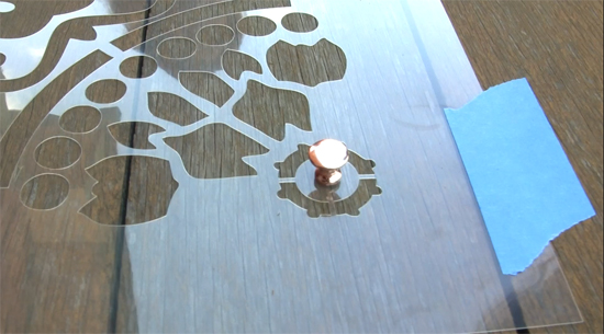 Learn the secrets on how to stencil a deck with the Prosperity Mandala Stencil pattern from Cutting Edge Stencils. http://www.cuttingedgestencils.com/prosperity-mandala-stencil-yoga-mandala-stencils-designs.html