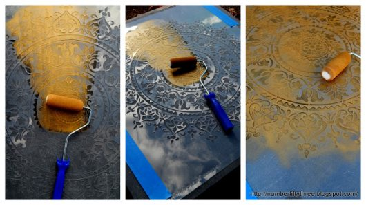 Learn How To Stencil DIY Boho Chic Wall Art Using The Prosperity Mandala  Stencil From Cutting