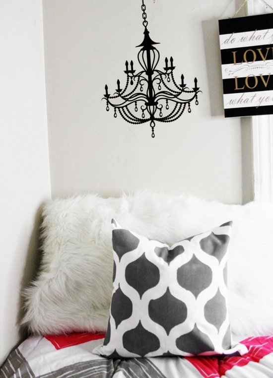 A DIY painted and stenciled accent pillow using the Cascade Pillow Stencil Kit from Cutting Edge Stencils. http://www.cuttingedgestencils.com/cascade-stencils-paint-a-pillow-kit.html