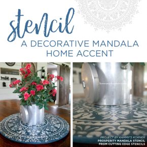 Stencil A Decorative Mandala Home Accent