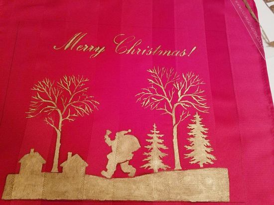 Learn how to stencil a Holiday tray in metallic gold using the Merry Christmas Craft Stencil from Cutting Edge Stencils. http://www.cuttingedgestencils.com/merry-christmas-crafts-stencil-design-diy-holiday-decor.html