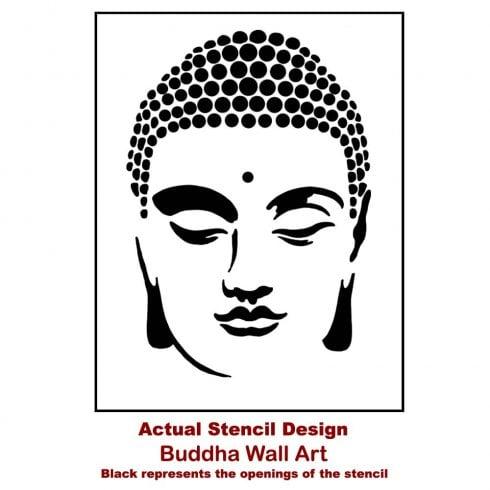 Buddha-Wall-Art-Stencil-Yoga-Stencils-Actual