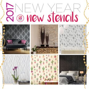 Cutting Edge Stencils shares NEW stencil designs for wall, floors, ceiling, furniture, and more! http://www.cuttingedgestencils.com/wall-stencils-stencil-designs.html