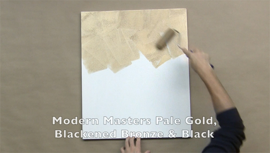 Learn how to upcycle an old canvas using the Buddha Wall Art Stencil from Cutting Edge Stencils. http://www.cuttingedgestencils.com/buddha-stencil-midfullness-decor-wall-decal-yoga-stencils.html