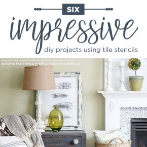 Six Impressive DIY Projects Using Tile Stencils
