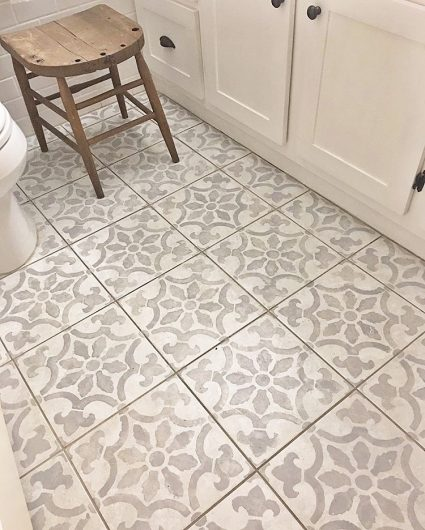 Six Impressive DIY Projects Using Tile Stencils Stencil