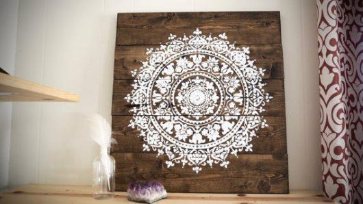 Mandala Wood Wall Art