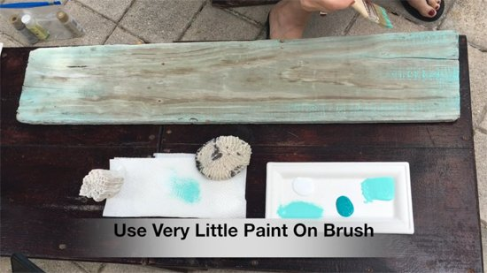 Learn how to stencil a piece of driftwood art using the Nautical Stencils like the Crab and Coral patternsfrom Cutting Edge Stencils. http://www.cuttingedgestencils.com/beach-decor-stencils-designs-nautical.html