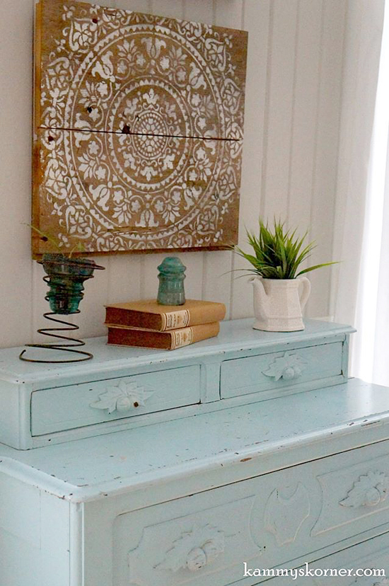 Diy Wall Art Stencils : Stencil ideas to give your home a refresher