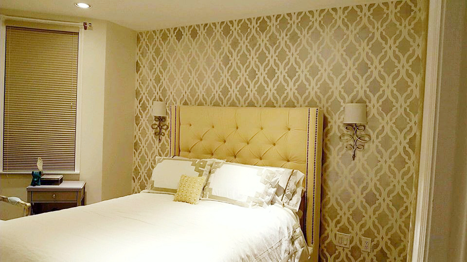 Inspiring Home Decorating Ideas Using Stencils