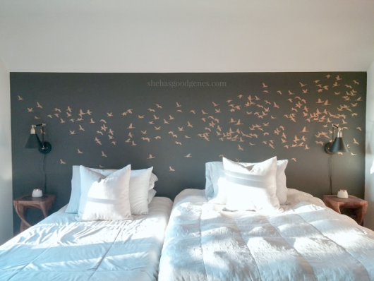 Use A Stencil Design To Enhance Your Decorating Style Stencil - Bedroom wall stencils design