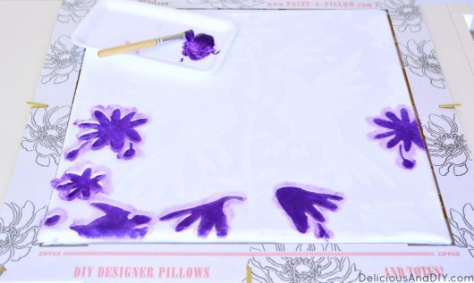 Learn how to stencil custom accent pillows using the Otomi Roosters Pillow Stencil Kit from Cutting Edge Stencils. http://www.cuttingedgestencils.com/otomi-roosters-stenciling-paint-a-pillow-kit.html