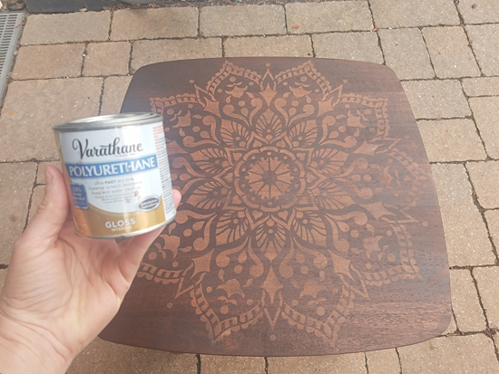 Learn how to stencil and stain wooden nesting tables using the Passion Mandala Stencil from Cutting Edge Stencils. http://www.cuttingedgestencils.com/passion-Learn how to stencil and stain wooden nesting tables using the Passion Mandala Stencil from Cutting Edge Stencils. http://www.cuttingedgestencils.com/passion-mandala-stencil-yoga-decal-wall-stencils-mandalas.html
