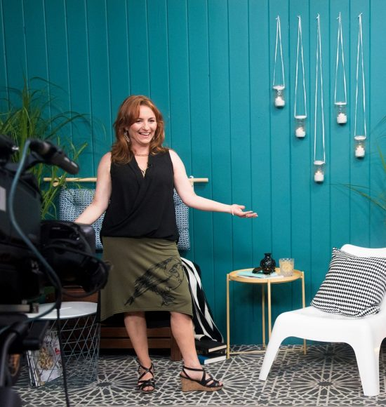 Learn how to Sharon Grech from Cityline stenciled a concrete balcony using the Medina Moroccan Tile Stencil from Cutting Edge Stencils. http://www.cuttingedgestencils.com/medina-moroccan-design-tile-stencil-wall-stencils.html
