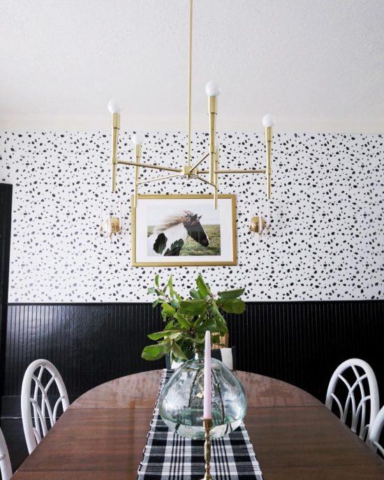 leopard-spot-wall-stencil-diy-stenciled-dining-room-wallpaper-1