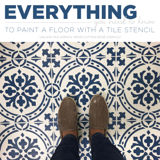 Floor Tile Paint Yes You Can Paint Floor Tiles Here S: Everything You Need To Know To Paint A Floor With A Tile