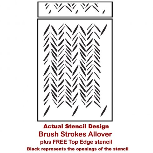 The Brush Strokes Wall Stencil from Cutting Edge Stencils. http://www.cuttingedgestencils.com/brush-strokes-wall-pattern-stencil-modern-wall-stencils.html