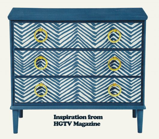 Inspiration to makeover thrift store furniture using paint and the Brush Strokes Stencil pattern from Cutting Edge Stencils. http://www.cuttingedgestencils.com/brush-strokes-wall-pattern-stencil-modern-wall-stencils.html