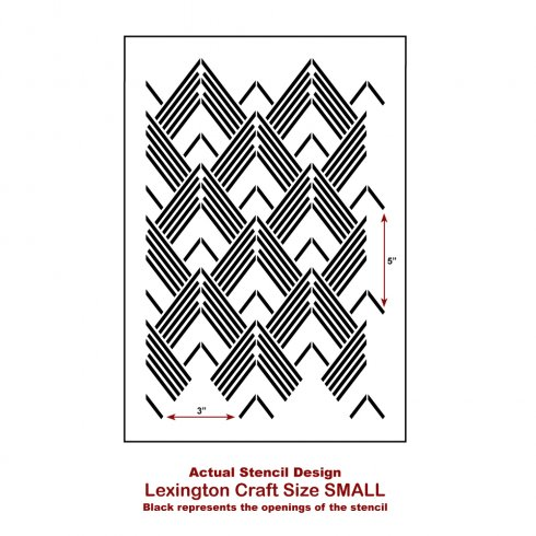 The Lexington Craft Stencil from Cutting Edge Stencils. http://www.cuttingedgestencils.com/lexington-craft-stencil-furniture-stencils.html