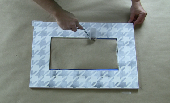 Learn how to stencil an Art Deco inspired mirror using the Lexington Craft Stencil from Cutting Edge Stencils. http://www.cuttingedgestencils.com/lexington-craft-stencil-furniture-stencils.html